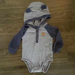 4/$20   Bodysuit hoodie